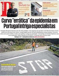 capa Público de 5 abril 2020
