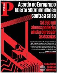 capa Público de 10 abril 2020