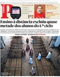 capa Público de 12 abril 2020