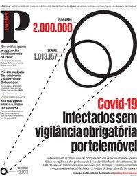 capa Público de 16 abril 2020