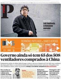capa Público de 17 abril 2020