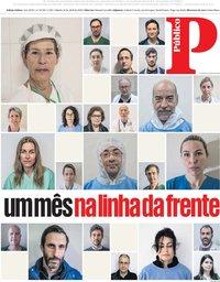 capa Público de 18 abril 2020