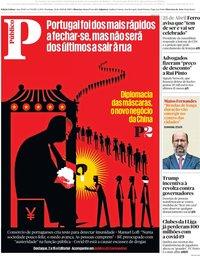 capa Público de 19 abril 2020