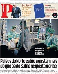 capa Público de 20 abril 2020