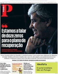 capa Público de 21 abril 2020