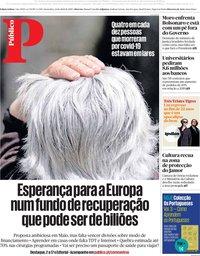 capa Público de 24 abril 2020