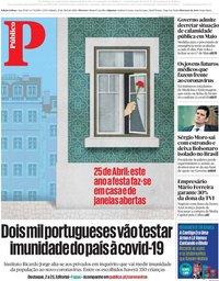 capa Público de 25 abril 2020