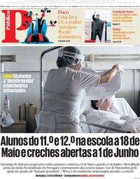 capa Público de 27 abril 2020