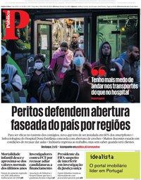 capa Público de 28 abril 2020