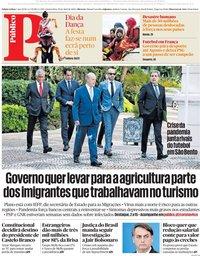 capa Público de 29 abril 2020