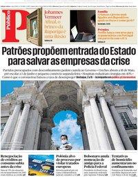 capa Público de 30 abril 2020