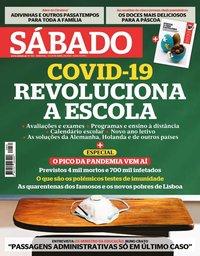 capa Revista Sábado de 9 abril 2020