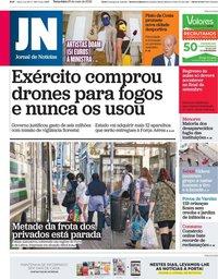 capa Jornal de Notícias de 26 maio 2020