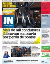 capa Jornal de Notícias de 30 maio 2020