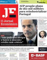 capa Jornal Económico de 1 maio 2020