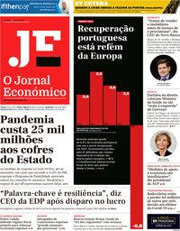 capa Jornal Económico de 8 maio 2020
