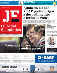 capa Jornal Económico de 15 maio 2020