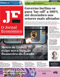 capa Jornal Económico de 29 maio 2020