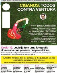 capa Jornal i de 7 maio 2020