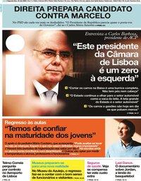 capa Jornal i de 18 maio 2020