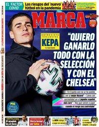 capa Jornal Marca de 1 maio 2020