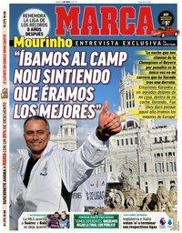capa Jornal Marca de 2 maio 2020