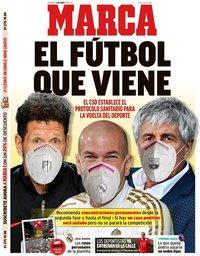capa Jornal Marca de 3 maio 2020