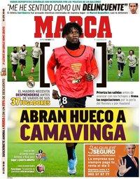 capa Jornal Marca de 5 maio 2020