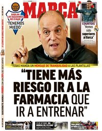 capa Jornal Marca de 6 maio 2020