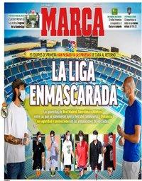 capa Jornal Marca de 7 maio 2020