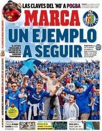 capa Jornal Marca de 8 maio 2020