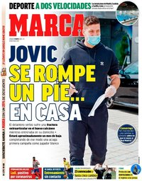 capa Jornal Marca de 9 maio 2020