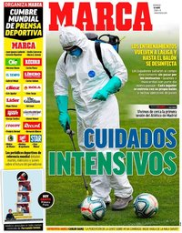 capa Jornal Marca de 10 maio 2020
