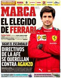 capa Jornal Marca de 13 maio 2020