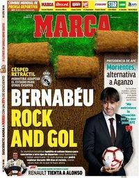 capa Jornal Marca de 14 maio 2020