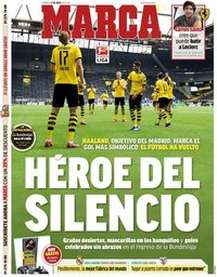 capa Jornal Marca de 17 maio 2020
