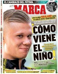 capa Jornal Marca de 18 maio 2020