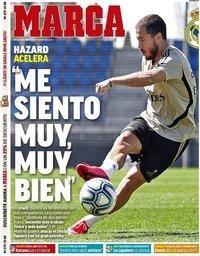 capa Jornal Marca de 19 maio 2020