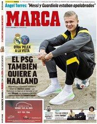 capa Jornal Marca de 20 maio 2020