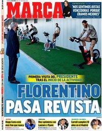 capa Jornal Marca de 22 maio 2020