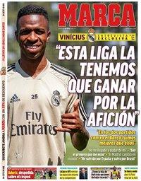 capa Jornal Marca de 23 maio 2020