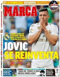 capa Jornal Marca de 26 maio 2020