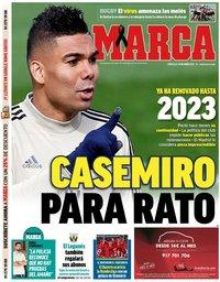 capa Jornal Marca de 27 maio 2020
