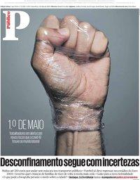capa Público de 1 maio 2020