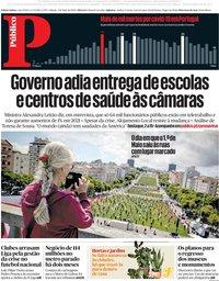 capa Público de 2 maio 2020