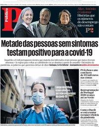 capa Público de 3 maio 2020