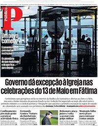 capa Público de 4 maio 2020
