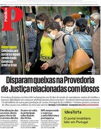 capa Público de 5 maio 2020