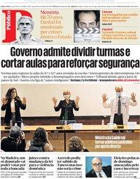 capa Público de 6 maio 2020