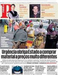 capa Público de 7 maio 2020